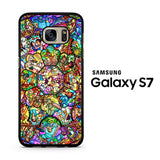 Disney Collage Mozaic Samsung Galaxy S7 Case