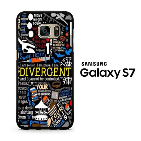 Divergent Collage Samsung Galaxy S7 Case