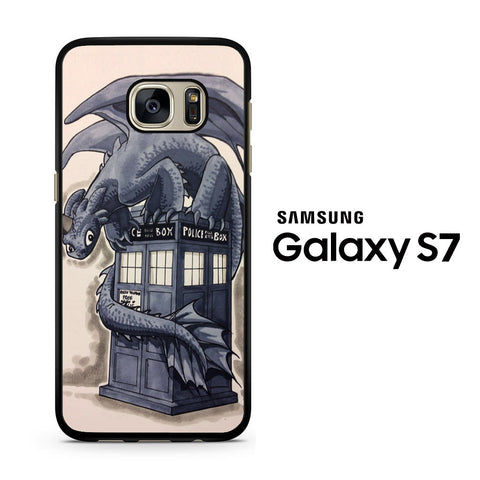Dragon How To Train The Tardis Box Samsung Galaxy S7 Case