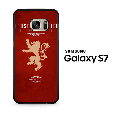 Game Of Thrones - house lannister Samsung Galaxy S7 Case