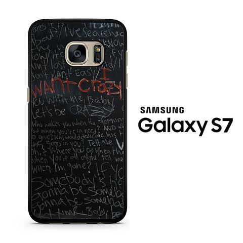 Hunter Hayes I Want Crazy Samsung Galaxy S7 Case