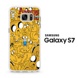 Adventure Time Collage Samsung Galaxy S7 Case