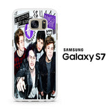 5SOS Poster Don't Stop Samsung Galaxy S7 Case