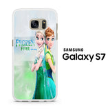 Frozen Fever Elsa and Anna Samsung Galaxy S7 Case
