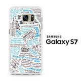 TFIOS Quotes Writen Samsung Galaxy S7 Case