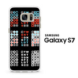 Twenty One Pilots Crossword Puzzle Samsung Galaxy S7 Case