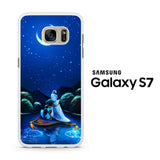 Aladdin and Jasmine Boating night Samsung Galaxy S7 Case