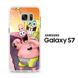 Spongebob and Pattrick Samsung Galaxy S7 Case