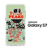 Welcome to Twin Peaks Map Samsung Galaxy S7 Case