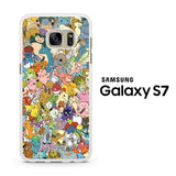 All Pokemon Characters Samsung Galaxy S7 Case