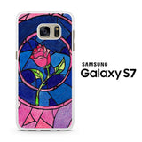 Beauty and The Beast Flower Samsung Galaxy S7 Case