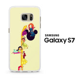 Disney Princess Climbing Rapunzel's Hair Samsung Galaxy S7 Case