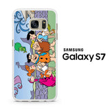 Flintstones Family Samsung Galaxy S7 Case
