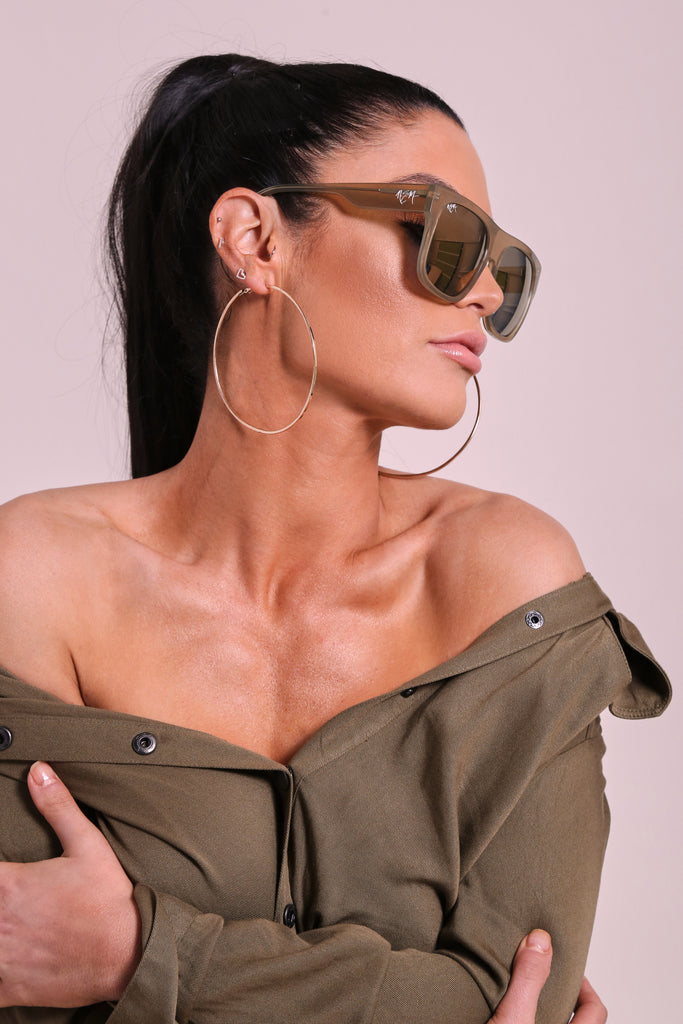Olive Branch Gold Tint Sunnies - NEM Fashion Store