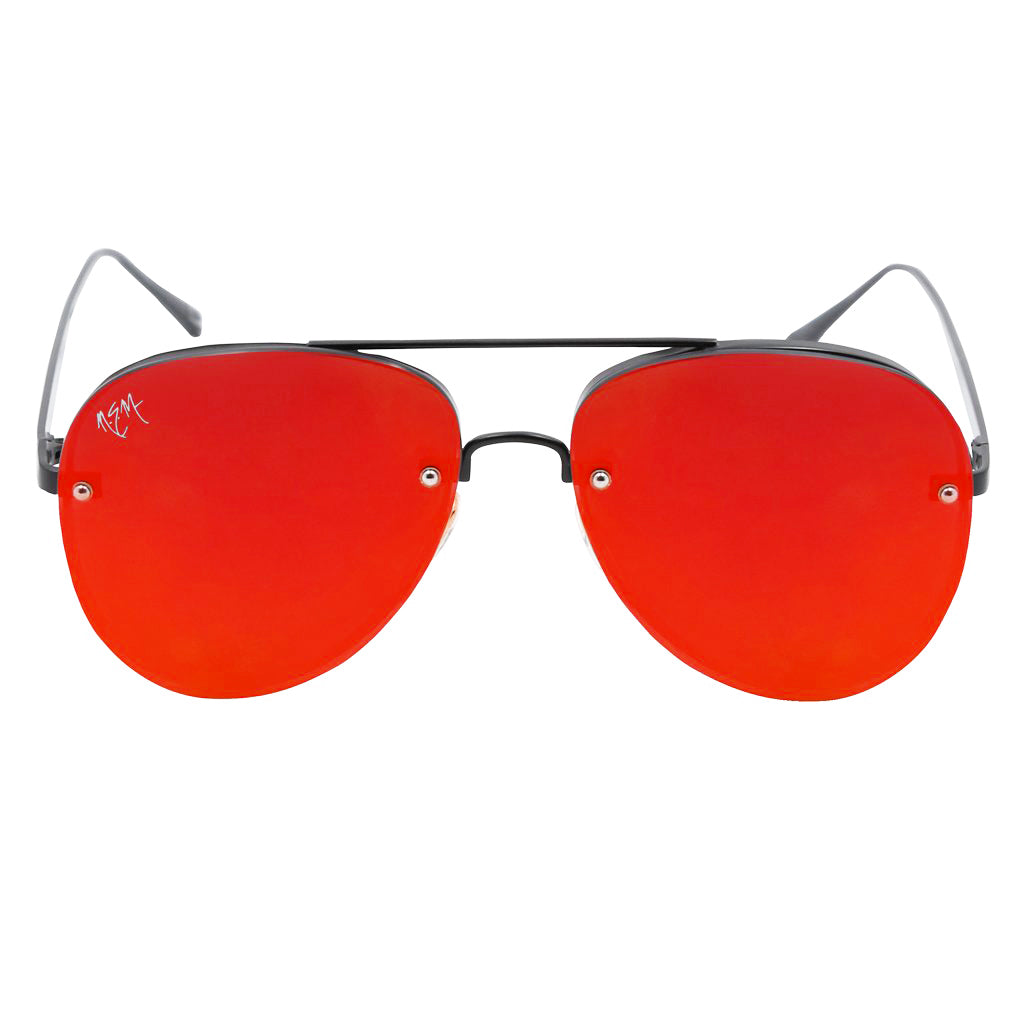 All Red Everything Aviator Sunnies - NEM Fashion Store