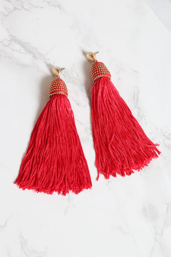 Fringe With Benefits Earrings - NEM Fashion Store