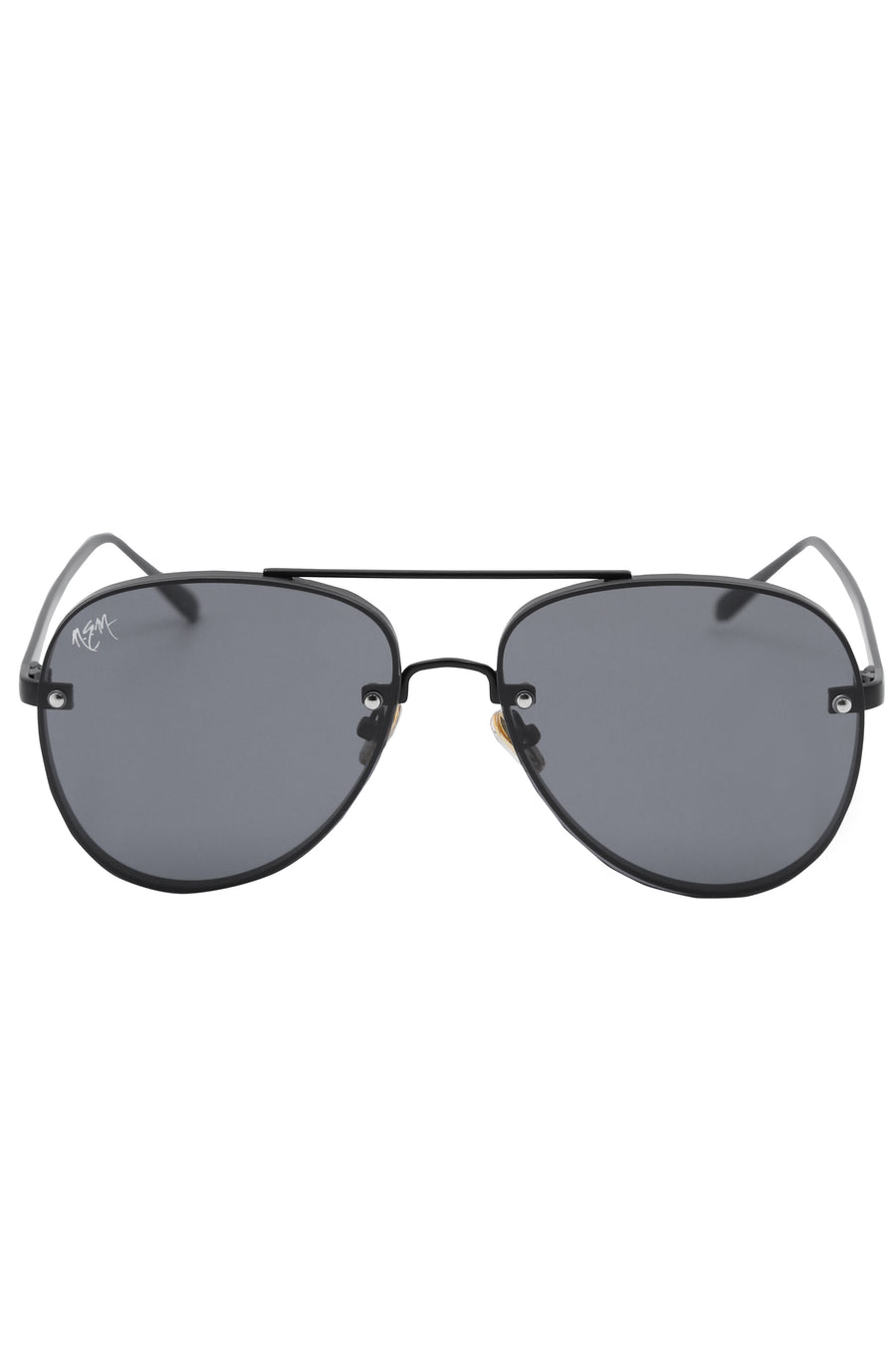 Roulette Matte Black Sunnies - NEM Fashion Store