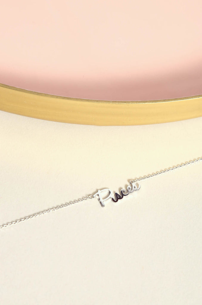 Pisces Necklace | Silver