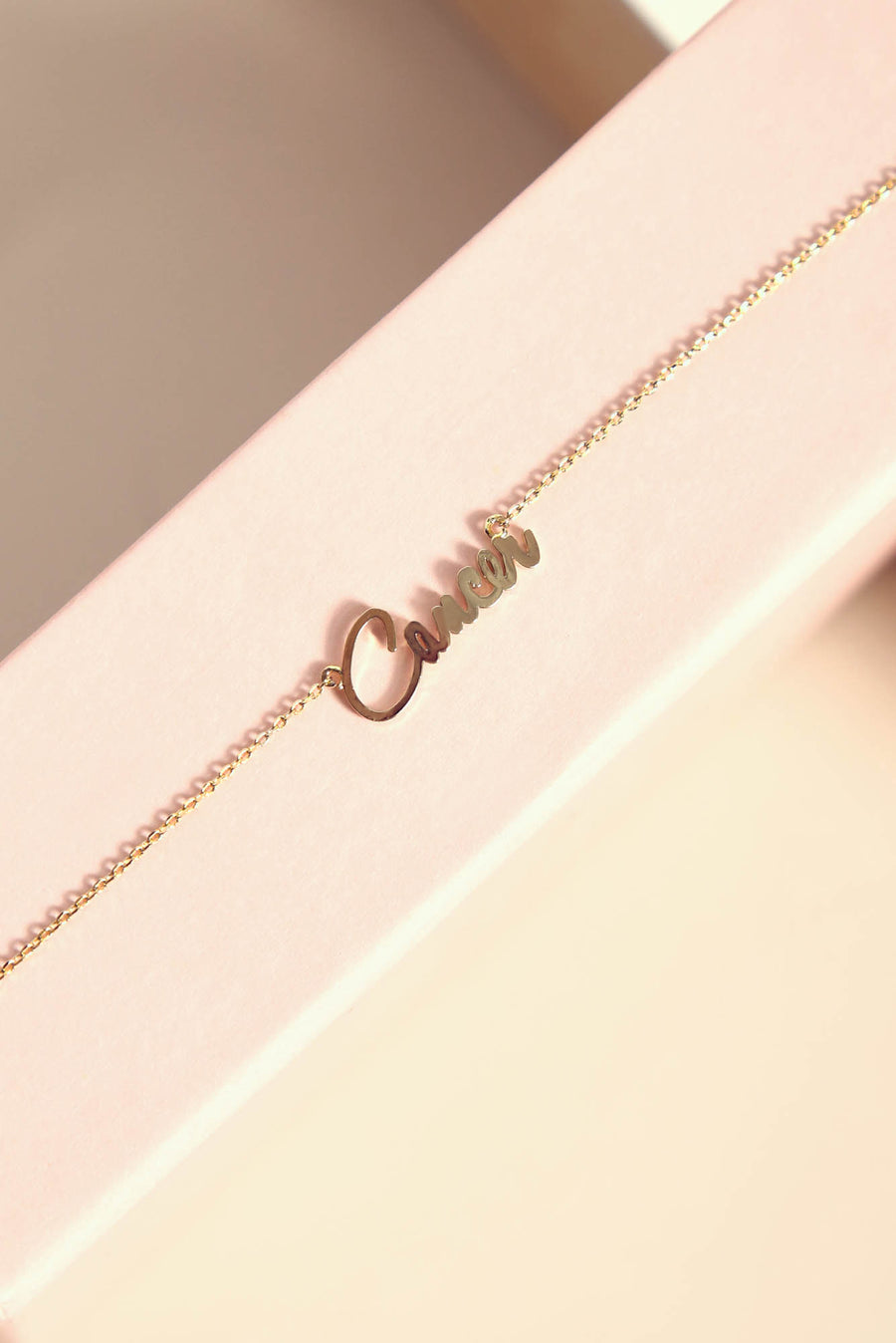 Cancer Necklace | Gold