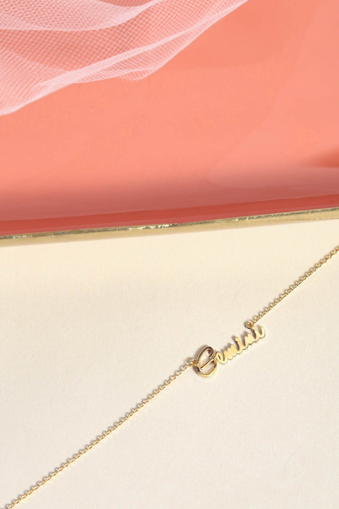 Gemini Necklace | Gold - NEM Fashion Store