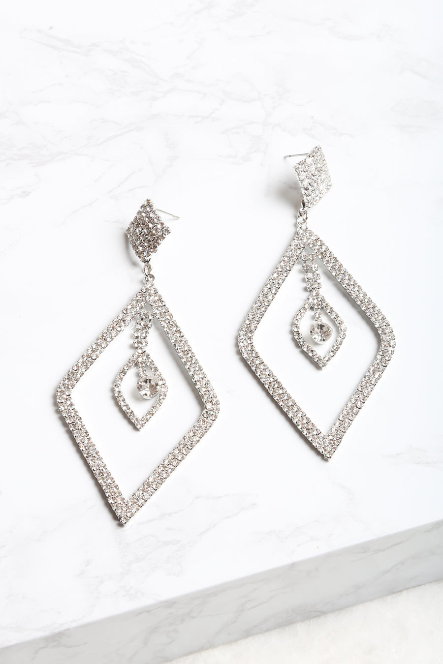 Duchess Diamond Earrings - NEM Fashion Store