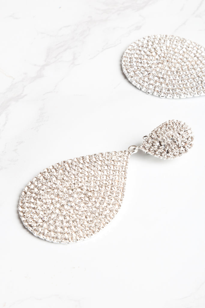 Shimmer & Shake Diamond Earrings - NEM Fashion Store