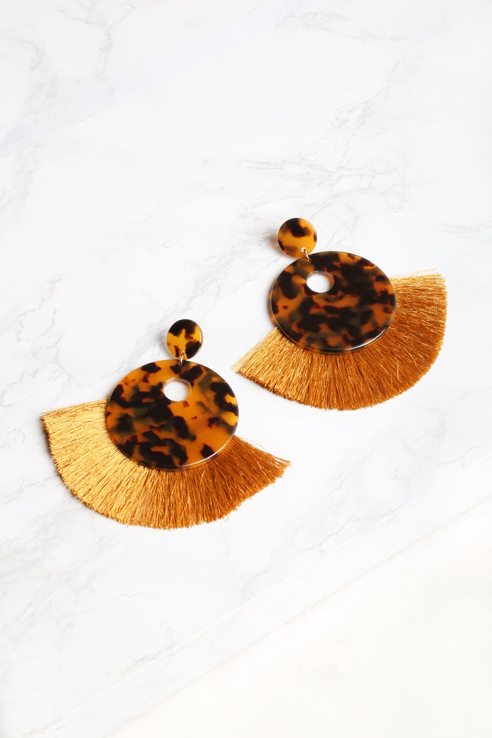 Boho Tortoise Earrings - NEM Fashion Store