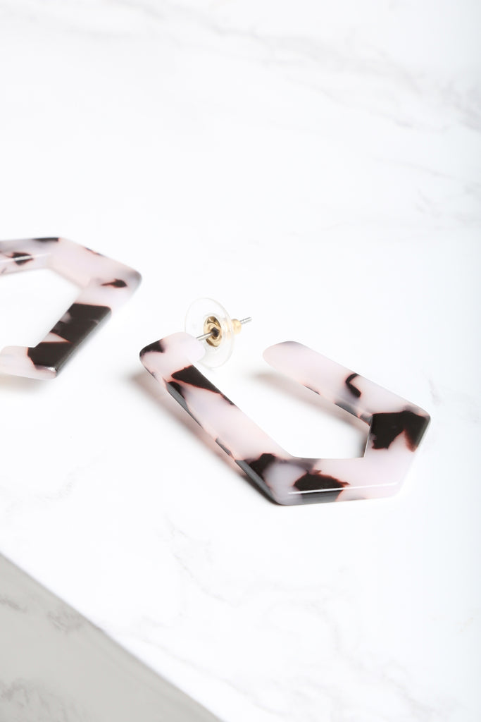 Damsel Marble Earrings - NEM Fashion Store