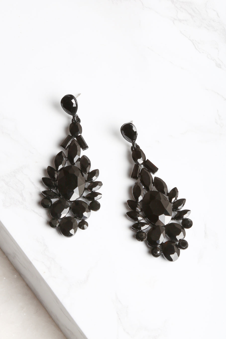 All Black Everything Earrings - NEM Fashion Store