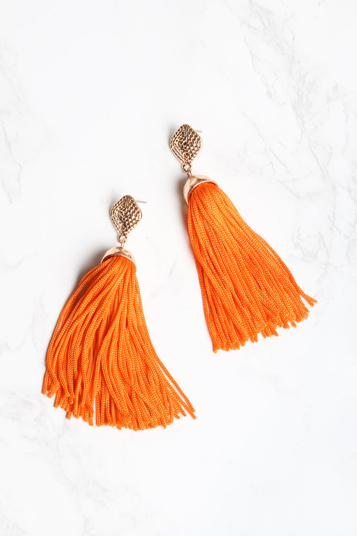 Life of the Party Tassel Earrings - NEM Fashion Store