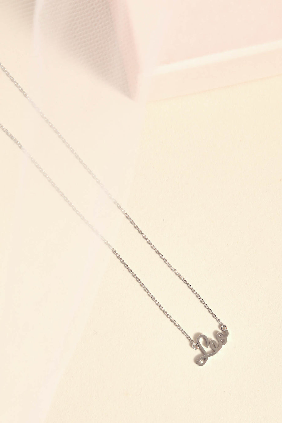 Leo Necklace | Silver