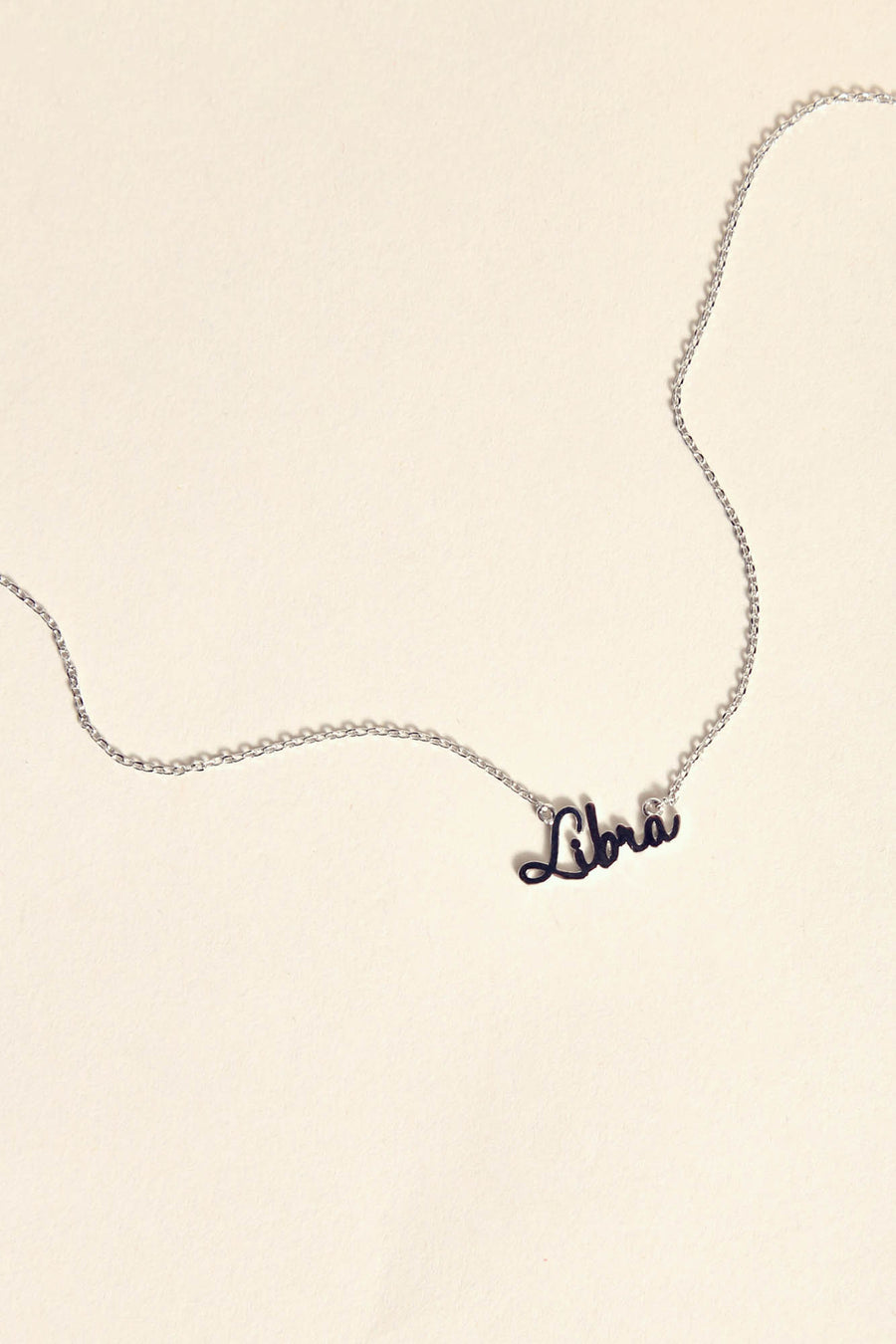 Libra Necklace | Silver