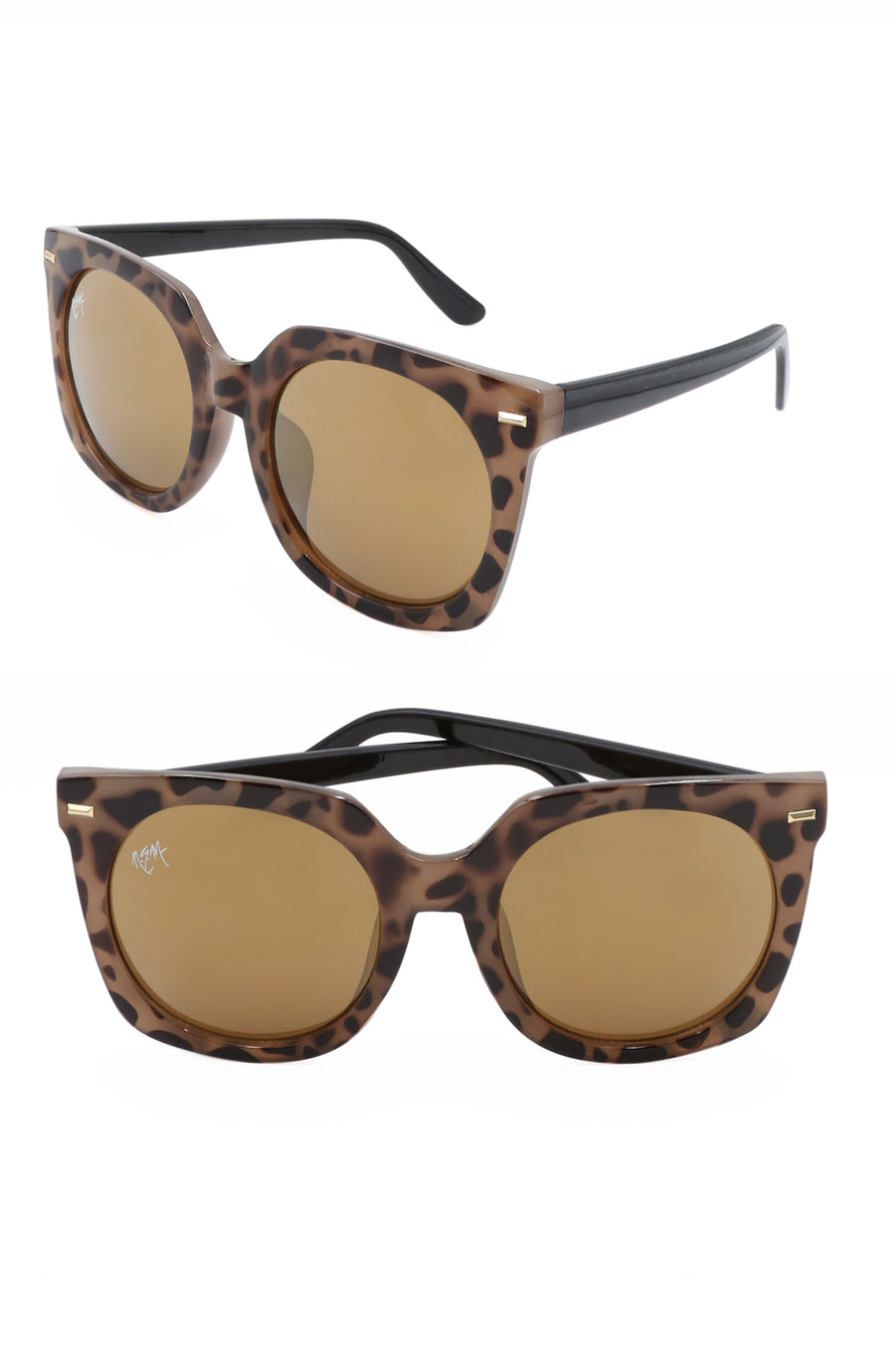 Melrose Sunnies- Tortoise - NEM Fashion Store
