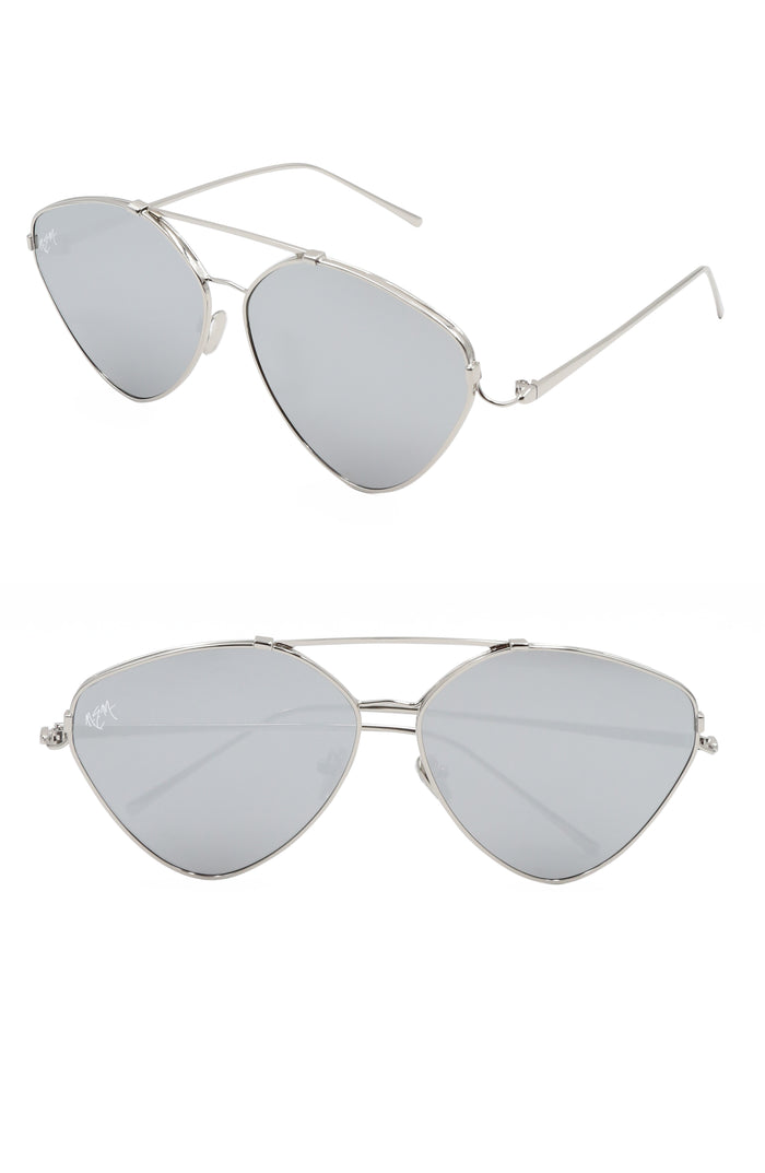 Sweet Heart Aviator | Silver - NEM Fashion Store