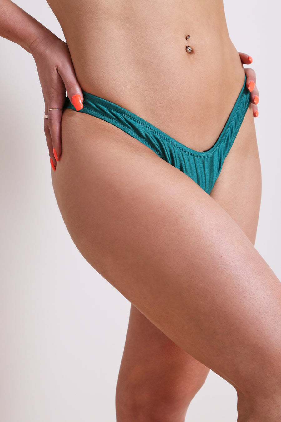 Cabo Bikini Bottom Dark Teal - NEM Fashion Store