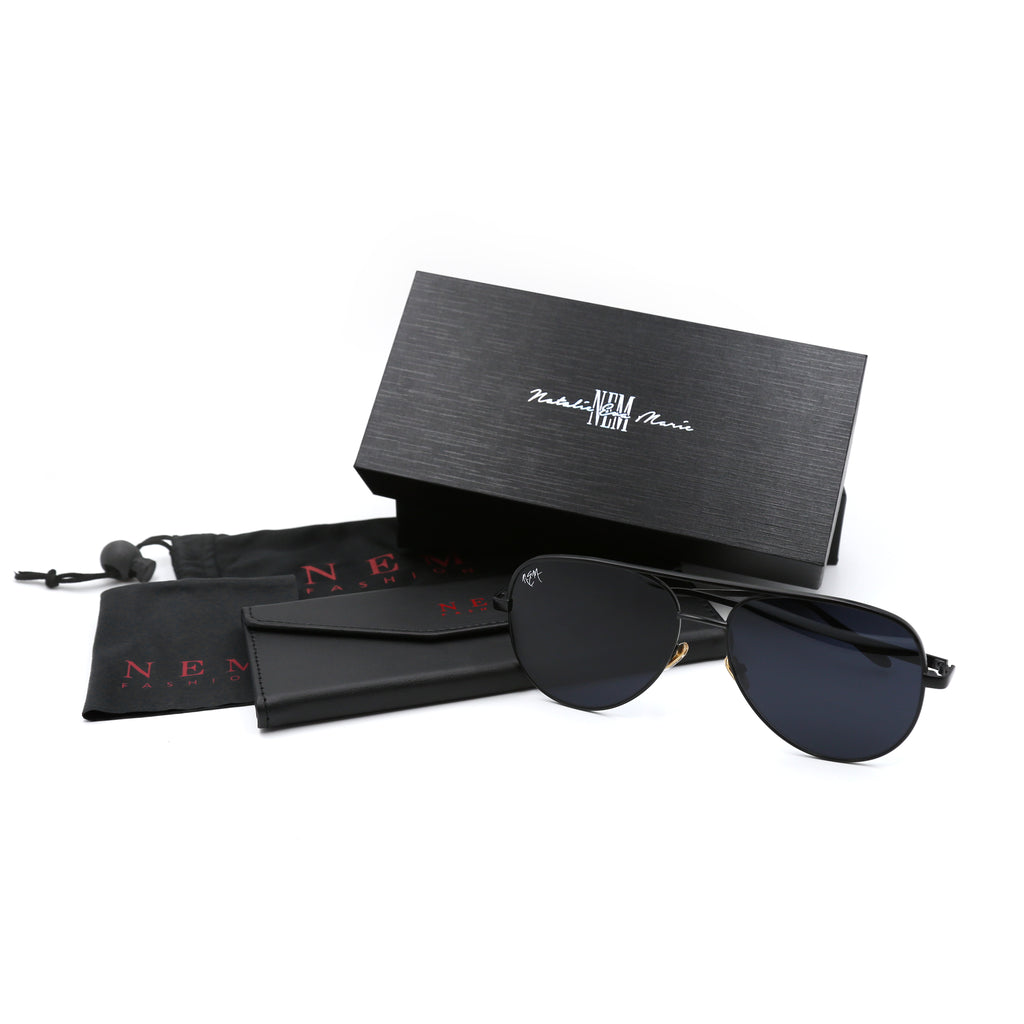 NEM Sports Sunnies | Matte Black - NEM Fashion Store