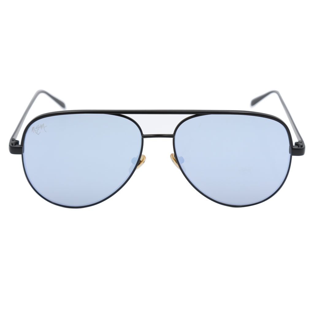 NEM Sports Sunnies | Gray/Blue - NEM Fashion Store