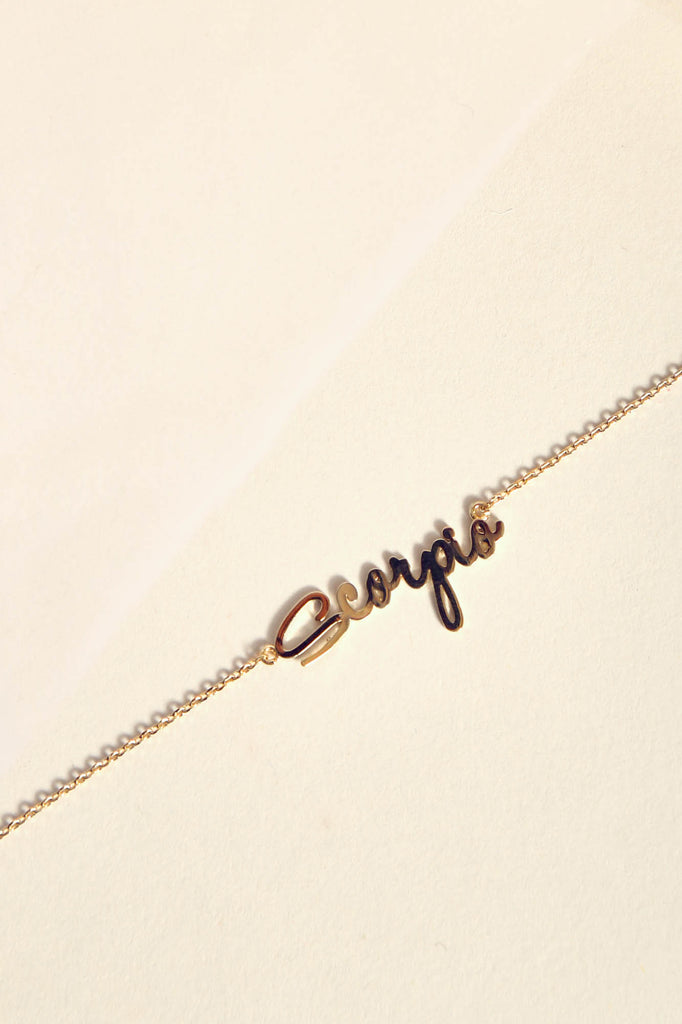 Scorpio Necklace | Gold