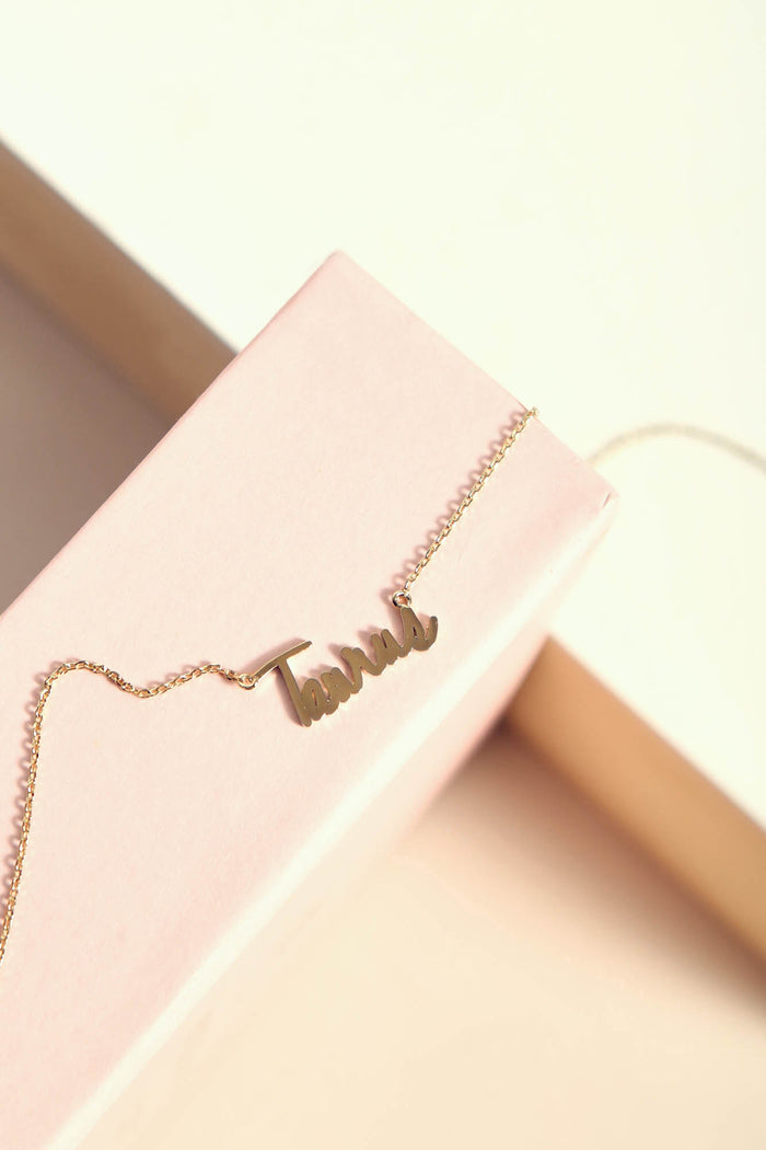 Taurus Necklace | Gold