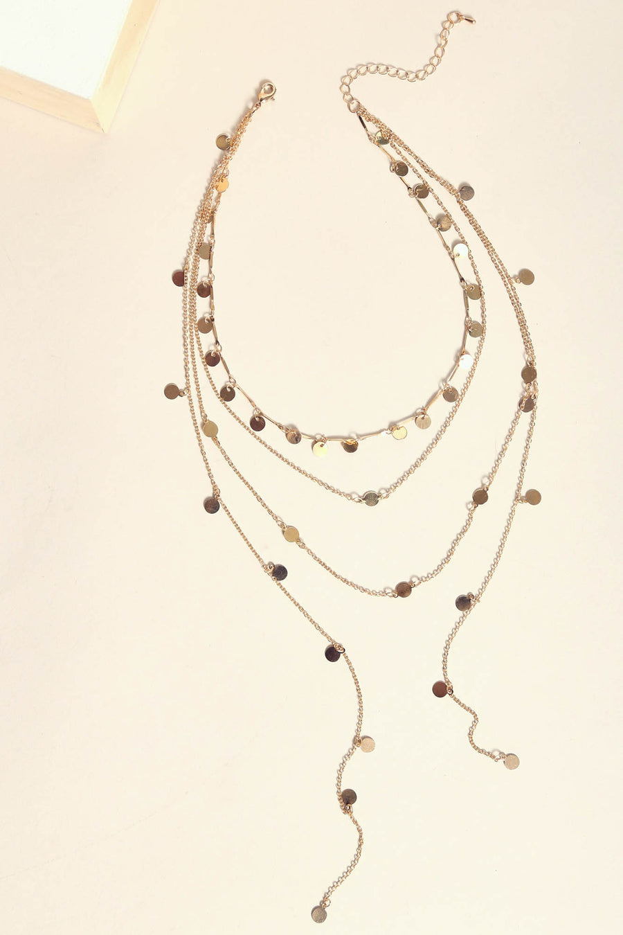 Touch Of Gold Layered Necklace