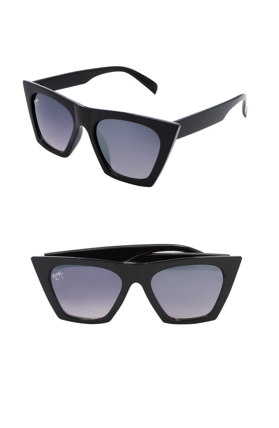 Posh Wayfarer Sunnies-Black - NEM Fashion Store