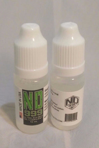 ND-999 Ultra-Refined Oil Lubricant (10mL)