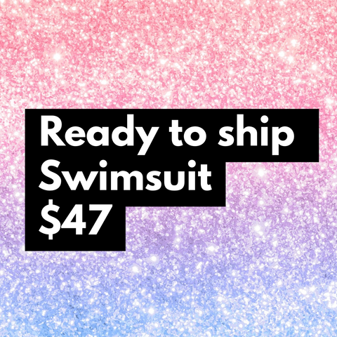 $47 ready to ship swimsuit