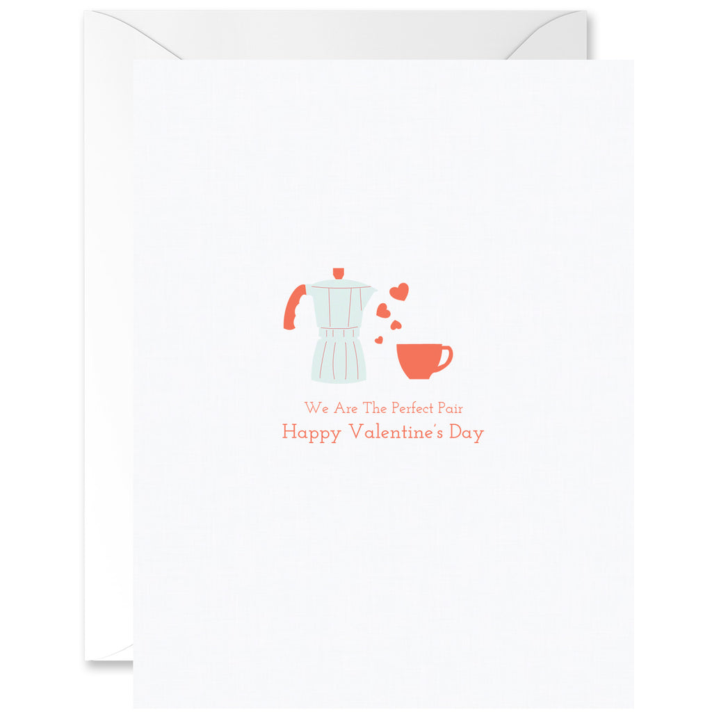 We Are The Perfect Pair Coffee Maker and Cuban Coffee Valentine's Day [English]