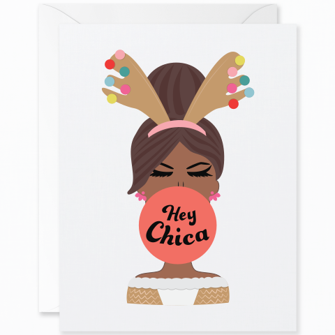 Hey Chica Reindeer Outfit Mocha Skin Tone
