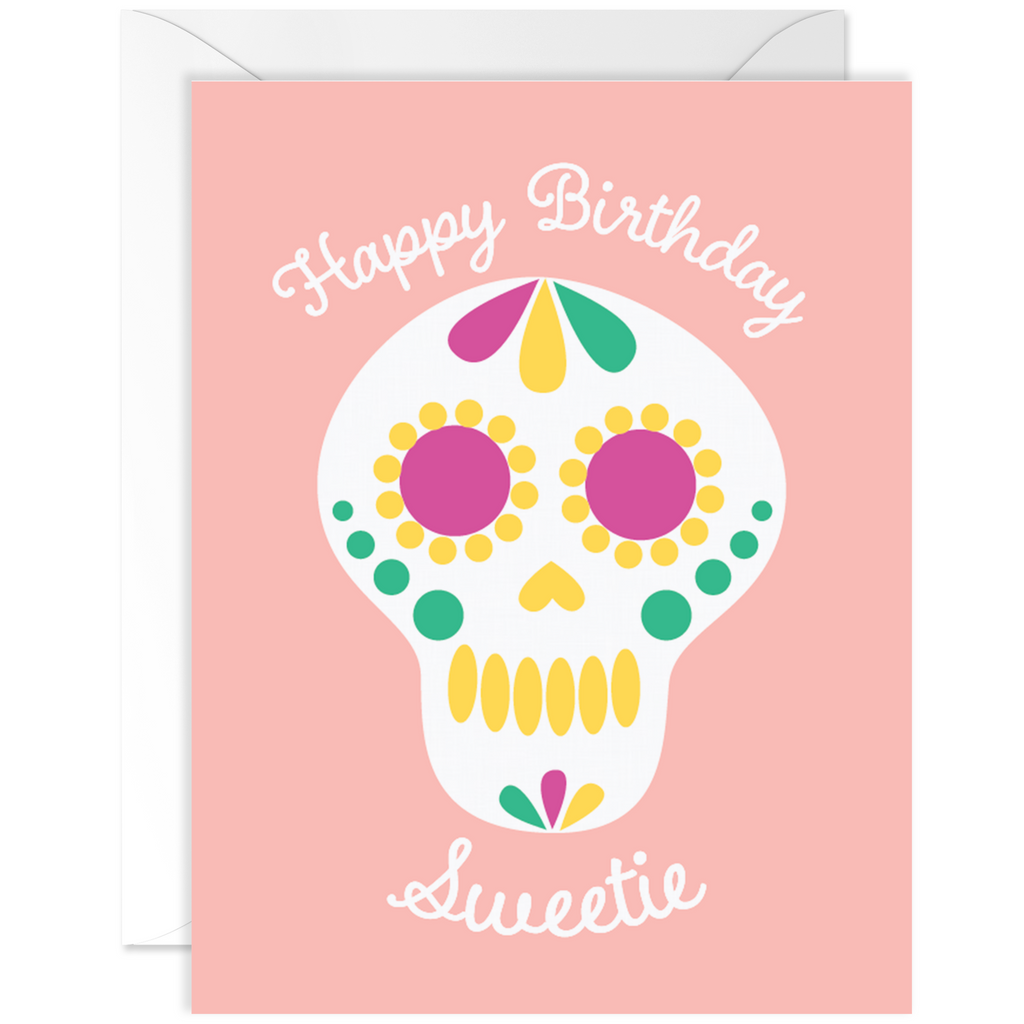 Birthday Sugar Skull