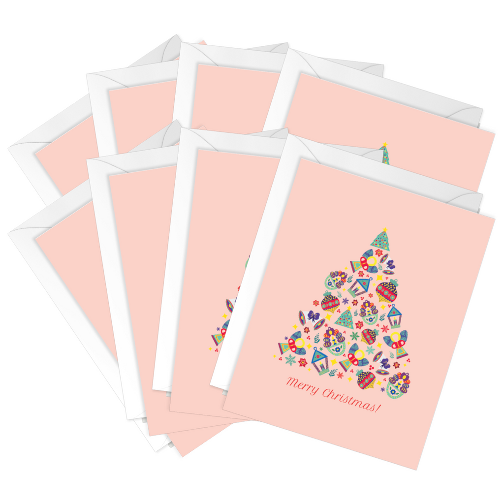 Holiday Tin Ornaments Tree Pack