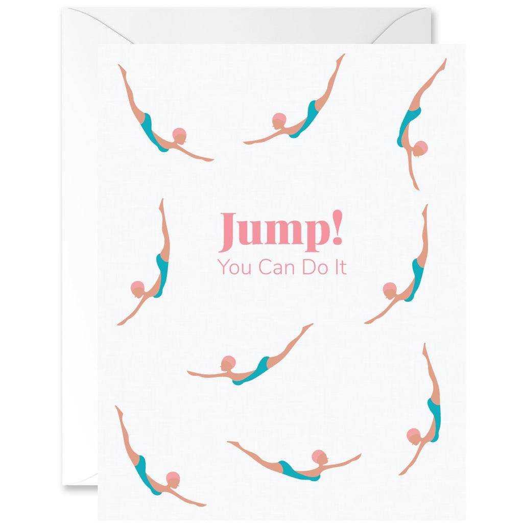 Jump! You Can Do It Diver Chicas Almond Skin Tone [English]