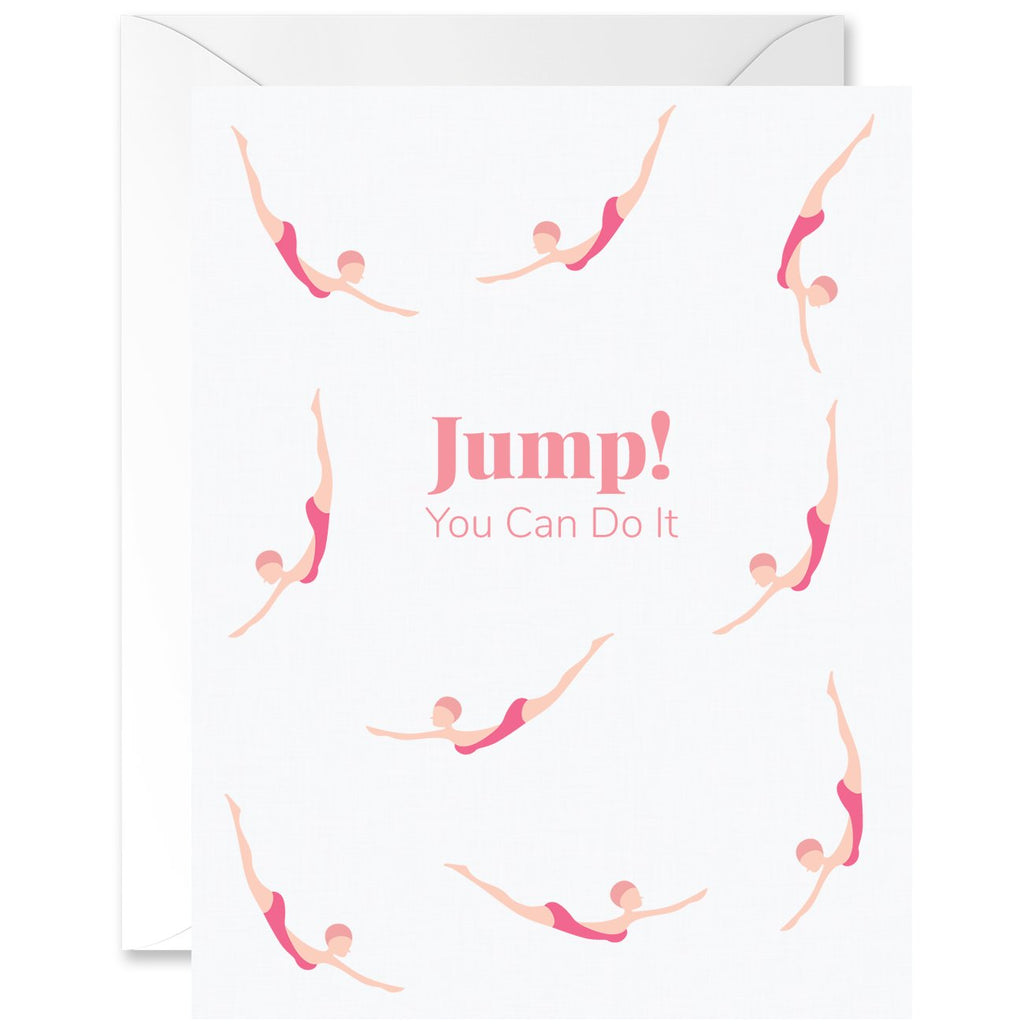 Jump! You Can Do It Diver Chicas Ivory Skin Tone [English]
