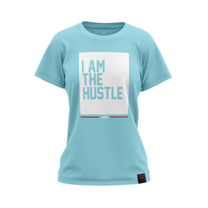 Ladies I Am The Hustle Flag - Cancun Perfect Tee